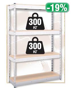 Стелаж Profi 4 рафта Х300 кг
