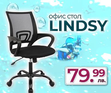Работен стол Lindsy на гореща цена!