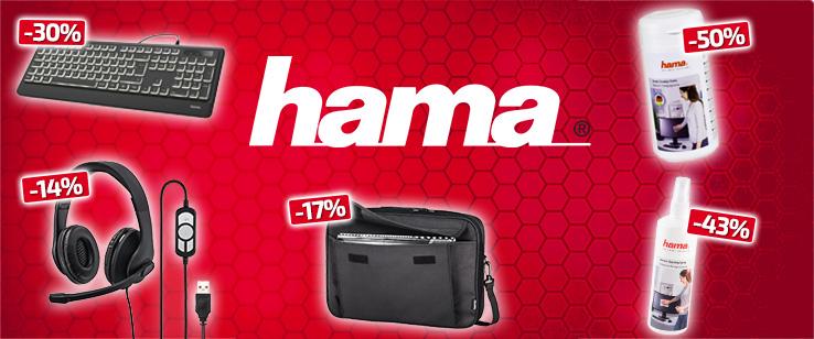 Продукти на марката Hama с големи намаления до -50%